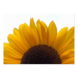 An Impressive Sunflower Pack Of Chubby Business Cards
