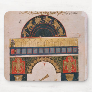An Indian astrological chart Mouse Pad