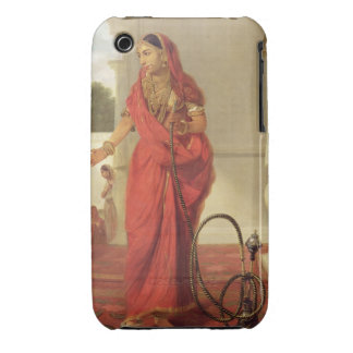 An Indian Dancing Girl with a Hookah, 1772 (oil on iPhone 3 Cases