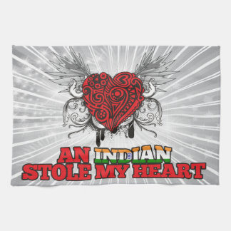 An Indian Stole my Heart Kitchen Towels