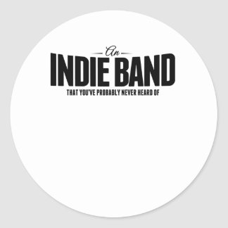 An Indie Band Stickers