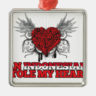 An Indonesian Stole my Heart Ornament