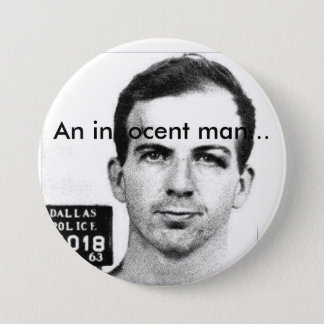 An Innocent Man 7.5 Cm Round Badge