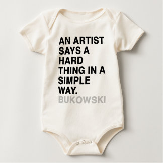 AN INTELLECTUAL SAYS A SIMPLE THING IN A HARD WAY. BABY BODYSUIT