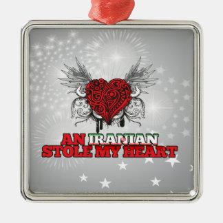 An Iranian Stole my Heart Christmas Ornaments