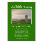 An Irish Blessing - Birthday Custom photo card