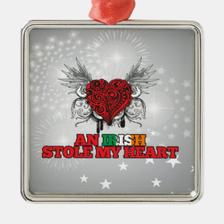 An Irish Stole my Heart Christmas Ornaments