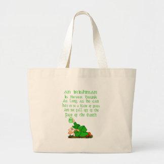 An Irishman Is Never Drunk.... Bag