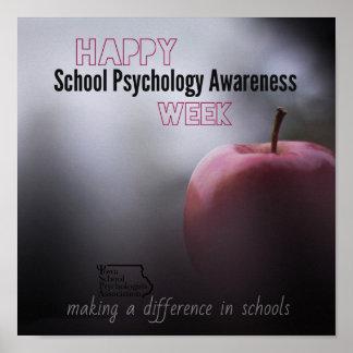 An ISPA School Psychology Week Door Poster