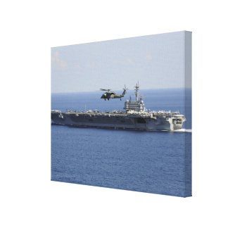An MH-60S Seahawk helicopter Canvas Print