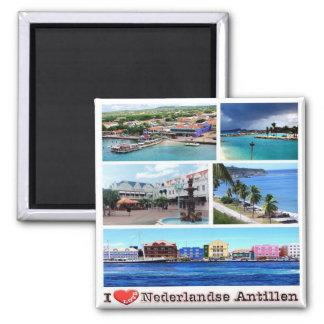 AN - Netherlands Antilles -  I Love Magnet