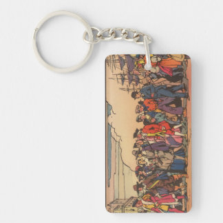 An Odd Assemblage Single-Sided Rectangular Acrylic Key Ring