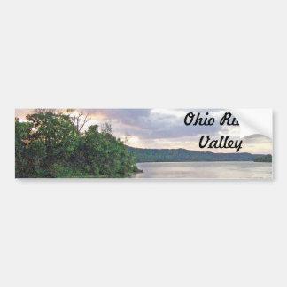 An Ohio River Valley Sunrise Bumper Sticker