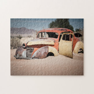 An Old Car. Jigsaw Puzzle