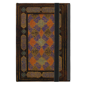 An Old Decorative Book Cover Case For iPad Mini
