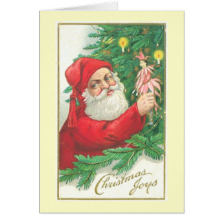 An Old Fashioned Christmas Greeting Card