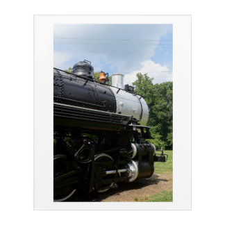 An Old Timer in Retirement Acrylic Print