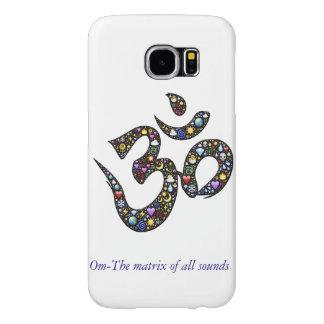An Om designed Samsung Galaxy S6 phone case