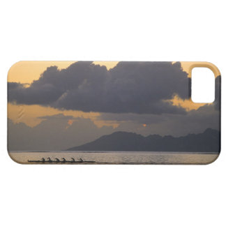 An outrigger canoe team practices off the coast barely there iPhone 5 case