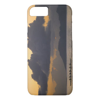 An outrigger canoe team practices off the coast iPhone 7 case
