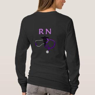 An RN Stethoscope T-Shirt