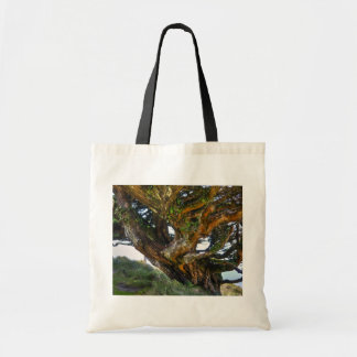 An Upside Down Tree Tote Bags