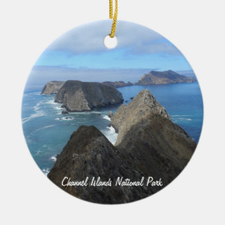 Anacapa Island- Channel Islands National Park Ceramic Ornament