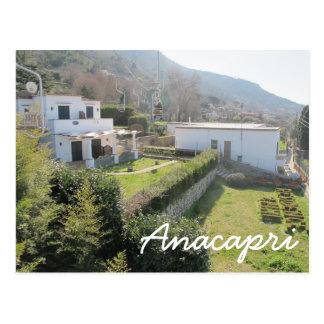 Anacapri Lift Postcard