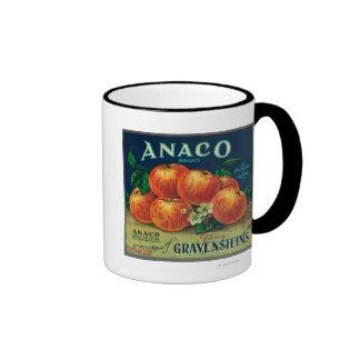 Anaco Apple Crate Label Mug