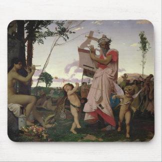 Anacreon, Bacchus and Aphrodite, 1848 Mouse Pad