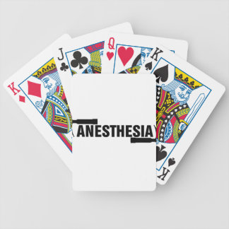 Anaesthesia Mac Blade Bicycle Playing Cards