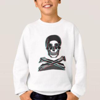 Anaglyph Style Crossbones Sweatshirt