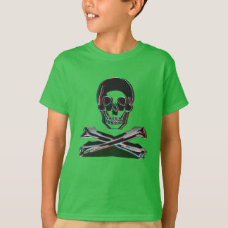 Anaglyph Style Crossbones T-Shirt