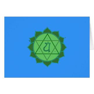 Anahata Chakra Card