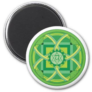 Anahata chakra Mandala Magnet