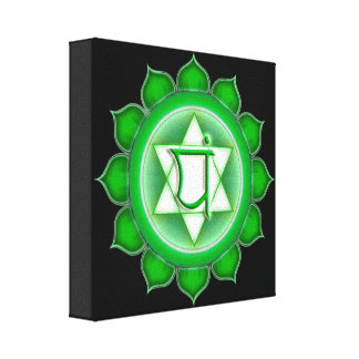 Anahata or Heart the 4th Chakra Canvas Print