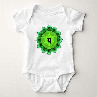Anahata The Heart Chakra Baby Bodysuit
