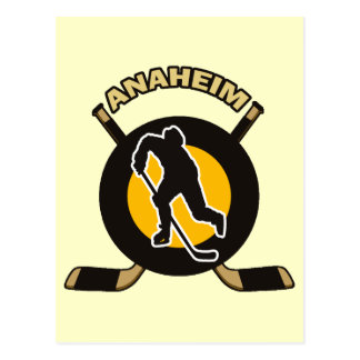 ANAHEIM HOCKEY POSTCARD