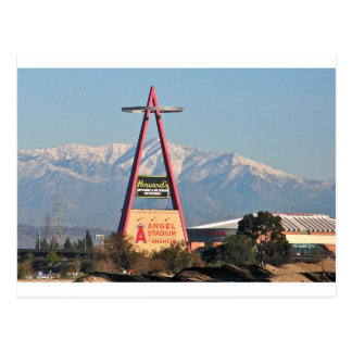 Anaheim in Winter Postcard
