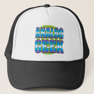 Analog Geek v3 Trucker Hat