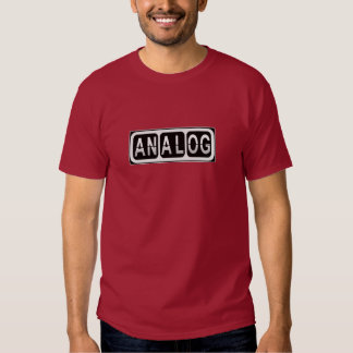 analog shirt