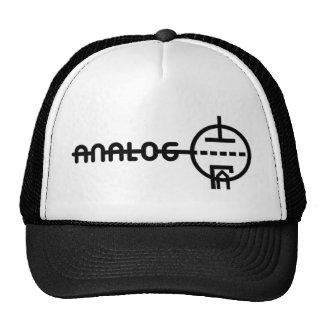 """analog"" vacuum tube hat"