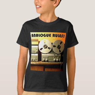 Analogue Rules Tshirt