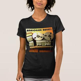 Analogue Rules Tshirts