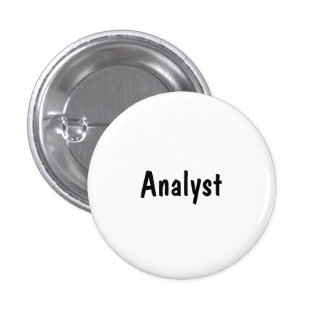 Analyst Pinback Buttons
