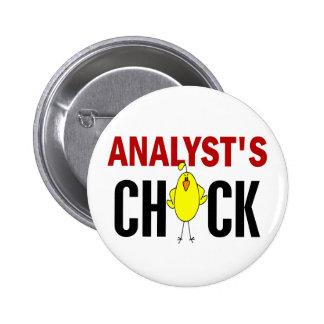 Analyst's Chick Pins