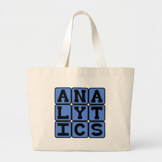 Analytics, Meaningful Patterns in Data Canvas Bag