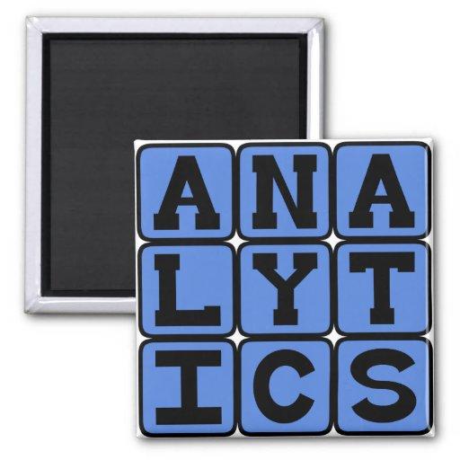 Analytics, Meaningful Patterns in Data Fridge Magnet