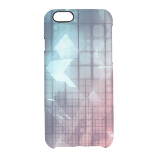 Analytics Technology with Data Moving Clear iPhone 6/6S Case