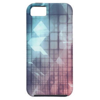 Analytics Technology with Data Moving iPhone 5 Covers